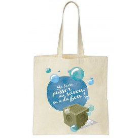 Cotton Tote Bag Made In France