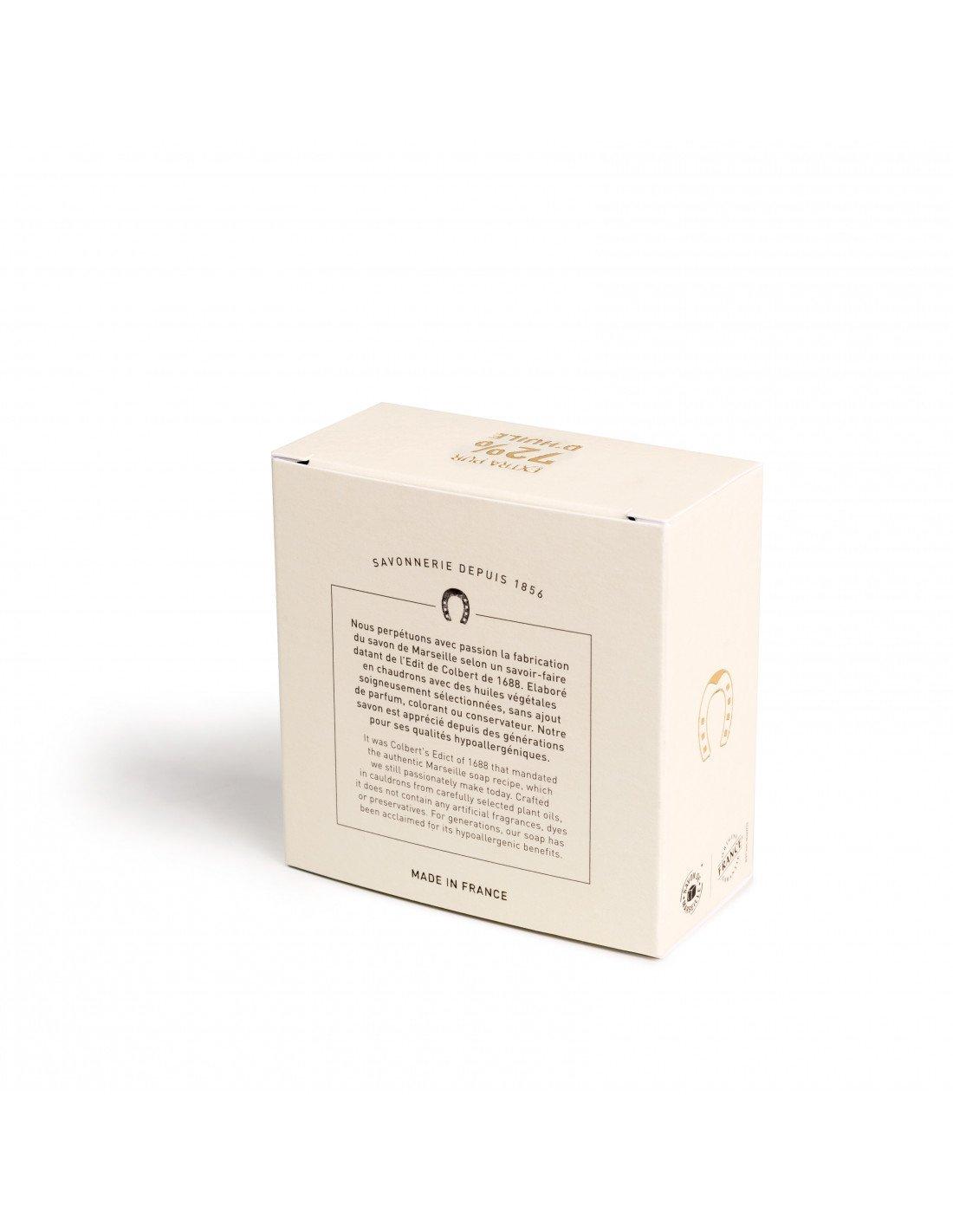 Cadeau savon de marseille 72 huile olive 150g - Composition savon de marseille ...
