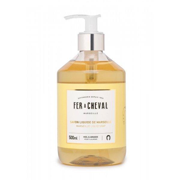Marseille Liquid Soap Honey & Almond 500ml