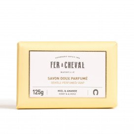 Gentle Perfumed Soap Honey & Almond 125g