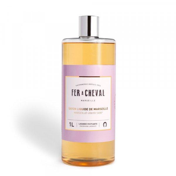 Marseille Liquid Soap Energising Lavender 1L