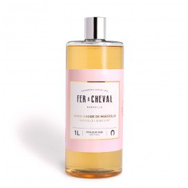 Marseille Liquid Soap Rose Petals 1L