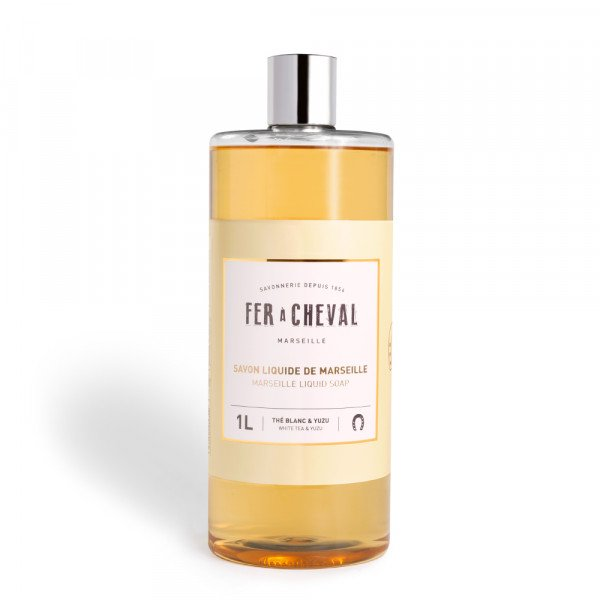 Marseille Liquid Soap White Tea & Yuzu 1L