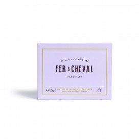 Coffret de Savons doux parfumés 4 x 125g